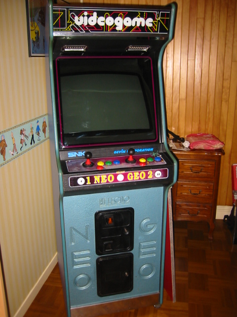 borne arcade neo geo